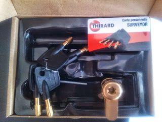 ΚΛΕΙΔΑΡΙΕΣ ΑΣΦΑΛΕΙΑΣ: Κύλινδρος-αφαλός ασφαλείας Thirard Surveyor