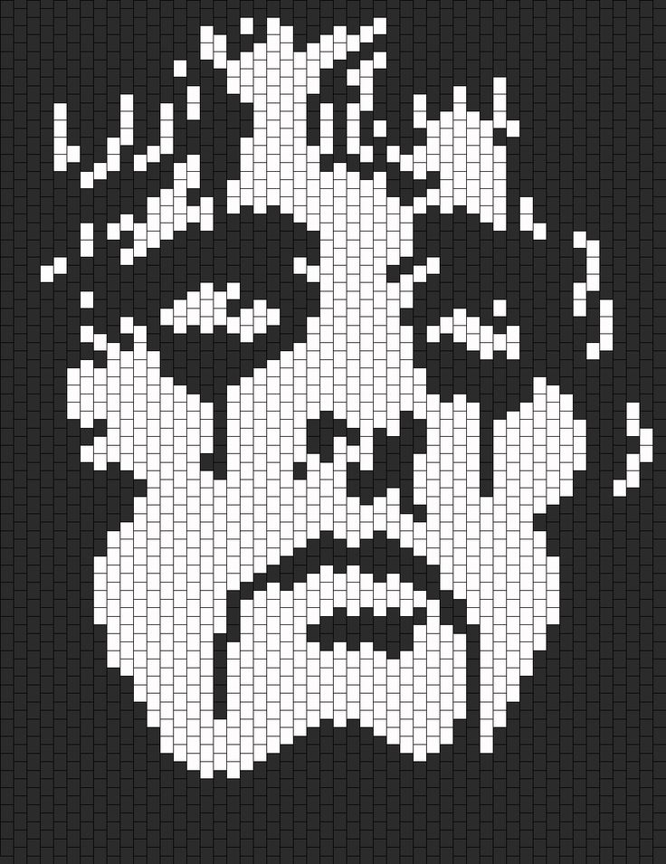 Alice Cooper bead pattern