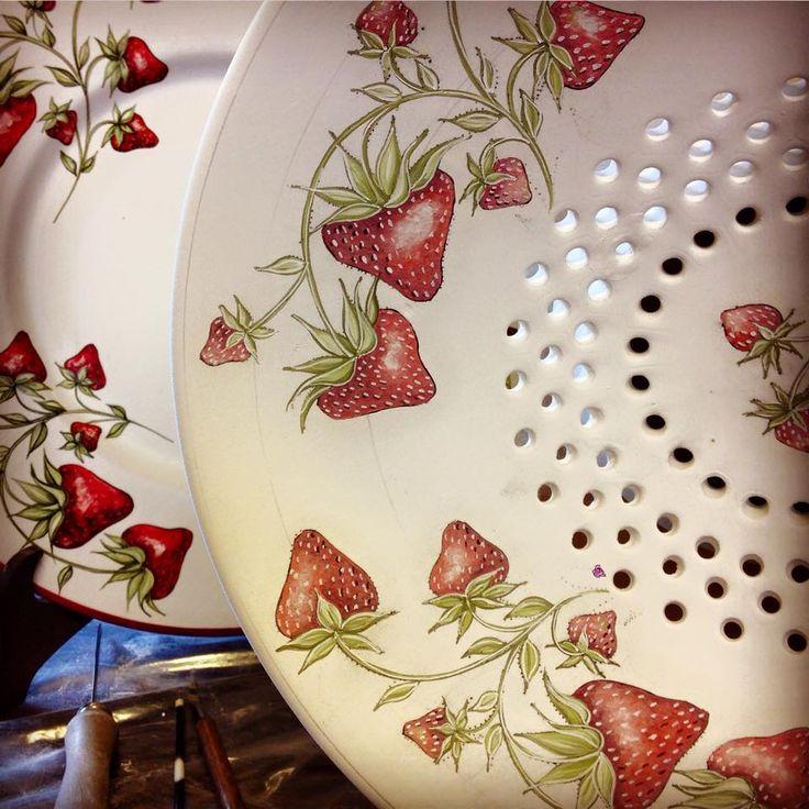Strawberry time <3 by carol brannigan design