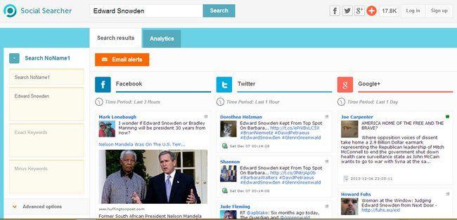 Social Searcher, excelente motor de búsqueda social en tiempo real, introduce varias mejoras