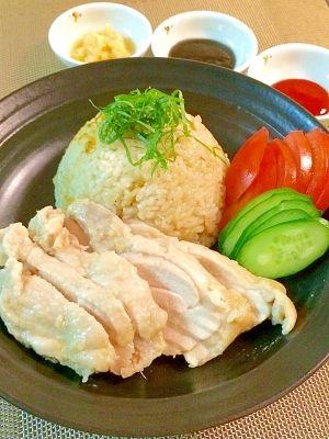 Asian☆シンガポールチキンライス(海南鶏飯) レシピ・作り方 by ...