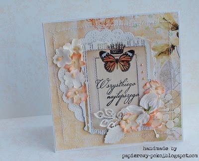 papierowy pokój: Jego wysokość motyl