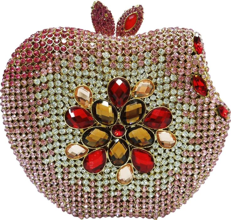 YoursFashion Luxury Crystal Pink Apple Evening Handbags. Unique Apple Shape Clutch with High Quality Sparkling Crystal on Both Sides. 50CM Detachable Goden Coated Chain. Good Packing for Long Distant Transport, Gift Wrap is Available. 2-5 Days for Lead Time. 2-4 Weeks For Shipping Via China Post or Hongkong Post. Order Over $200.00 Will Ship Via Express Such as DHL,UPS,EMS,etc.