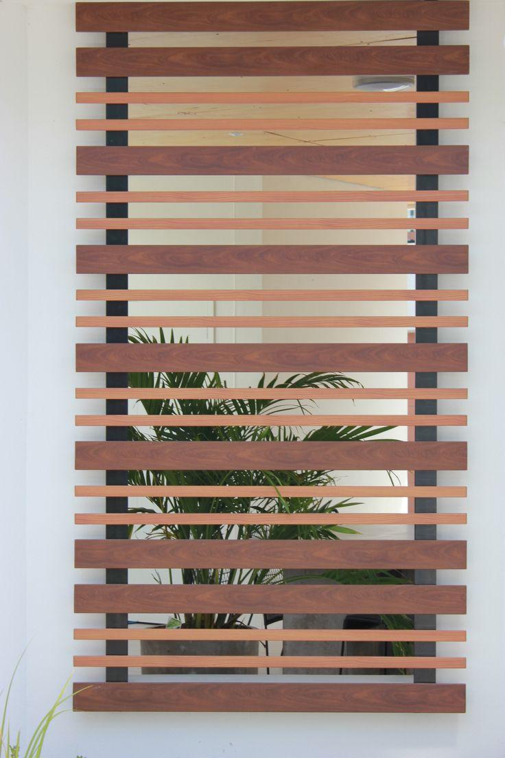 Loving these Knotwood decorative accent privacy screens!