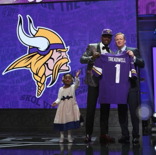 THE VIKINGS FILL THEIR WIDE RECEIVER VOID IN A BIG WAY WITH LAQUON TREADWELL. 2016 Draft