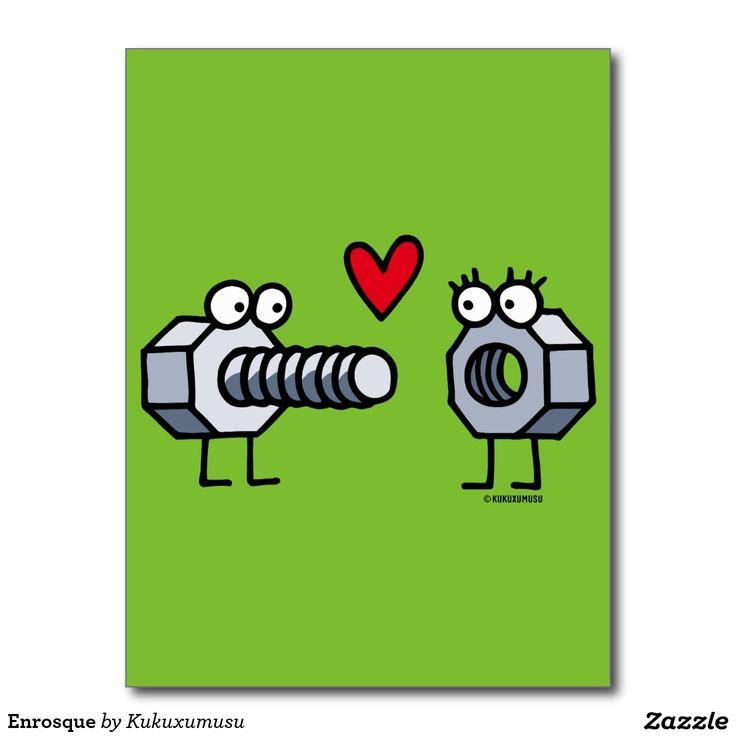Enrosque #tarjeta #postal #postcard