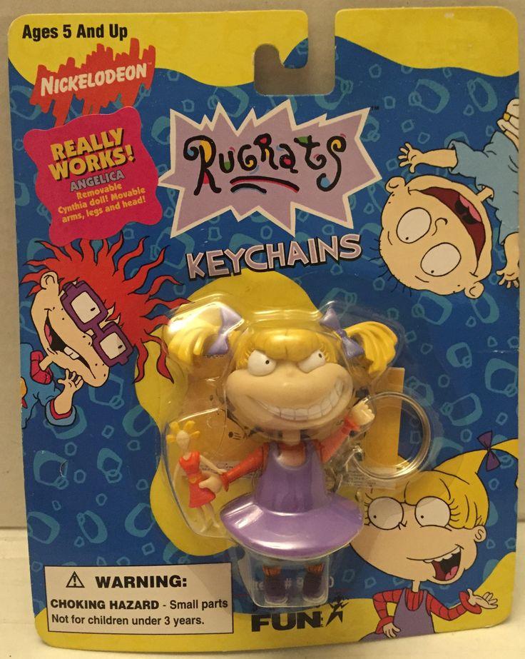 (TAS012916) - 1997 Nickelodeon Rugrats Keychains - Angelica