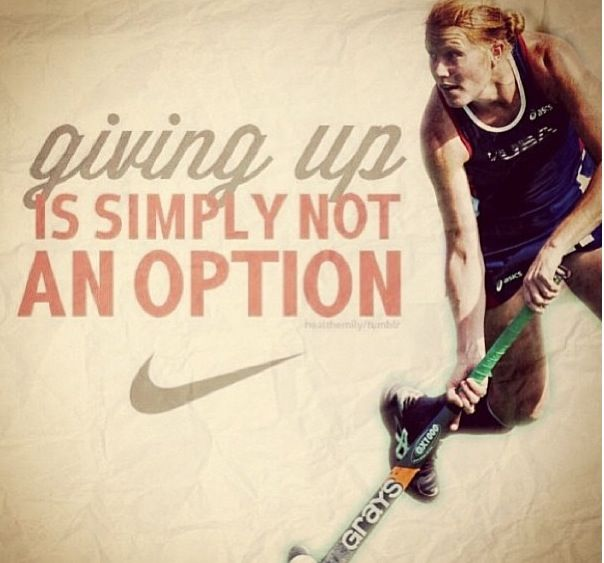 Motivational Quotes For Sports Teams: Field Hockey Motivational Quotes. QuotesGram