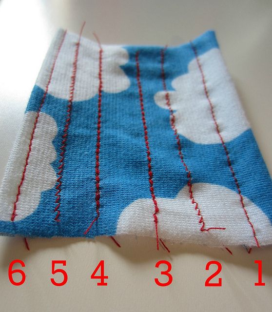 Invaluable tips for sewing with knits.