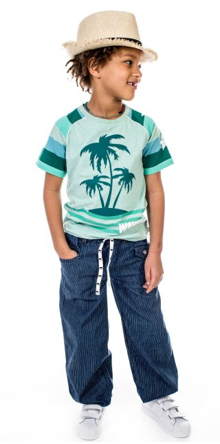 T shirt k/æ - FloridaStripe03