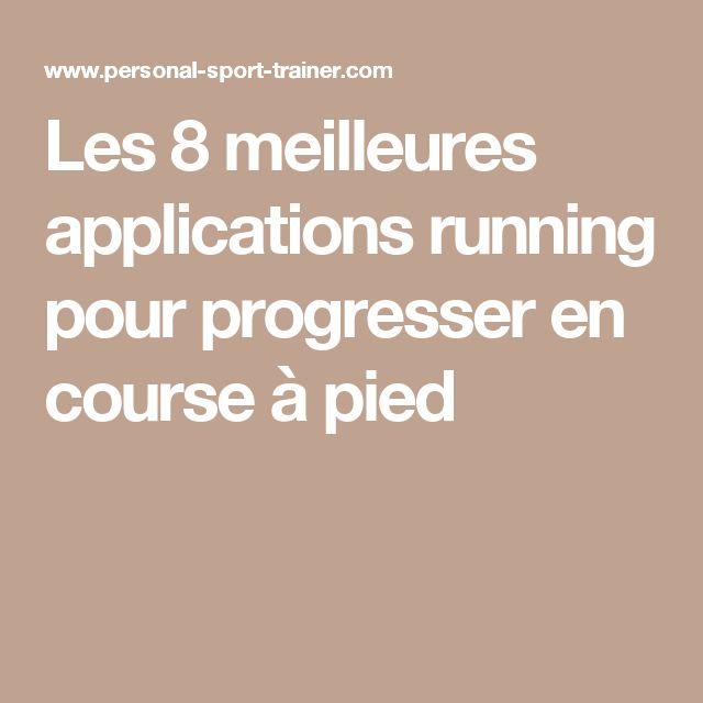 Les 8 meilleures applications running pour progresser en course à pied
