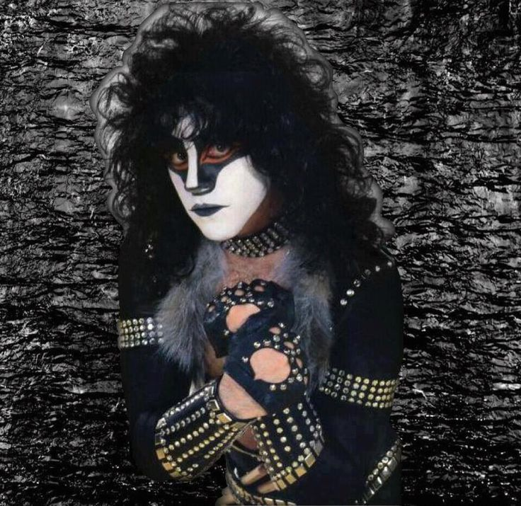 Kiss Eric Carr Makeup: A Tribute To Eric Carr - (The Fox