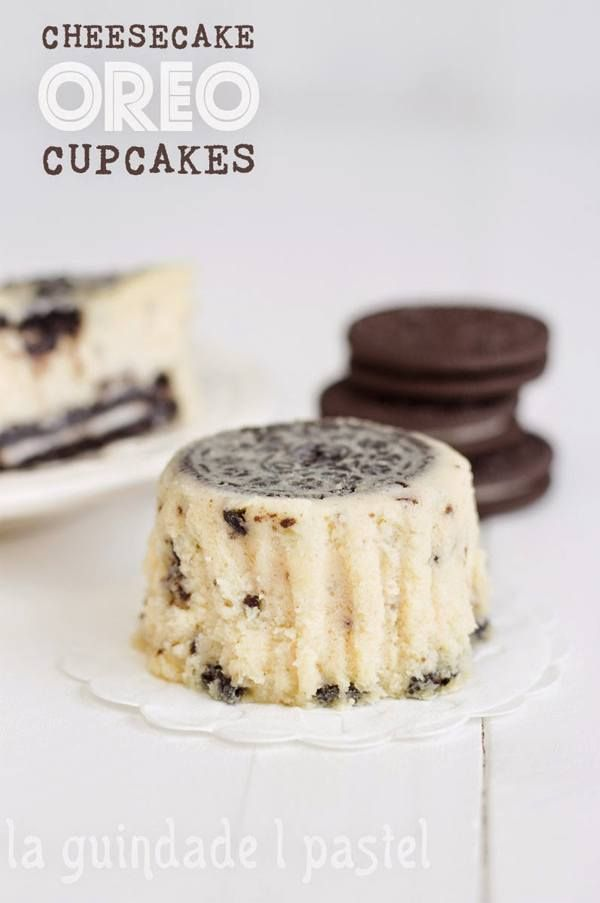 cheesecake oreo cupcakes, tarta, queso, trata de queso, galletas oreo, duochoc, pastel de queso, cupcake