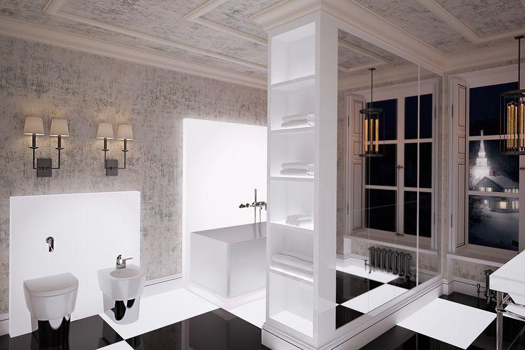 интерьер ванной комнаты 2017, проект дома швейцария