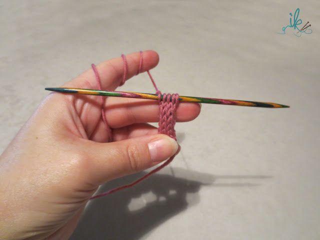 Strickschnur, Kordel oder I-Cord stricken
