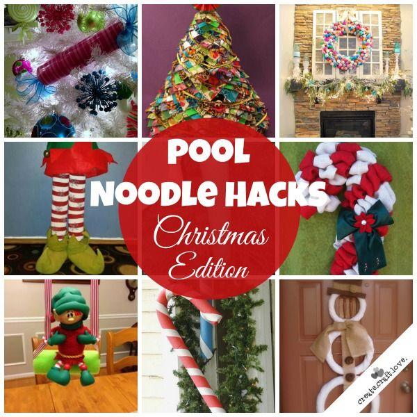 Pool Noodle Hacks Christmas Edition
