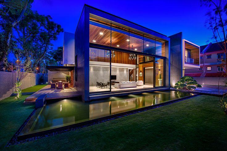 park + associates: mimosa house in singapore - designboom | architecture & design magazine