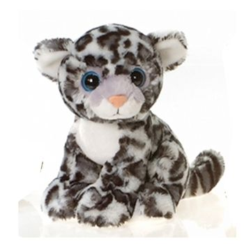 DYLAN-Aunt Marci's Favorite Animal VERY ENDANGERED SAVE HIM MY LIL WILDLIFE CONSERVATIST♡ Styx the Big Eyes Snow Leopard Stuffed Animal by Fiesta