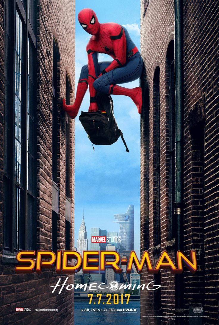 #Spider-Man: #Homecoming (2017). Dir: Jon Watts; Int: Tom Holland, Michael Keaton, Jon Favreau, Zendaya, Marisa Tomei, Robert Downey Jr., Donald Glover y Tyne Daly.