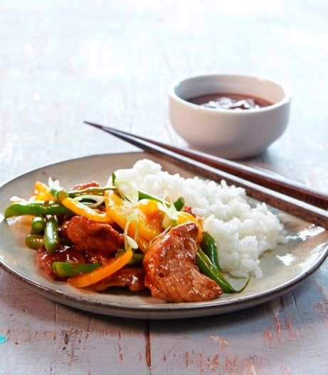 Spicy Satay Stir Fry