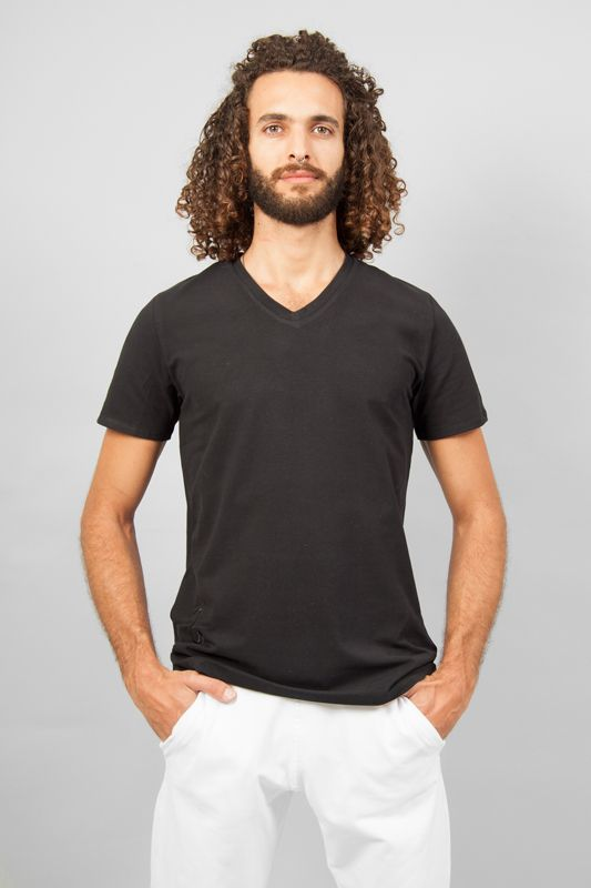 T-shirt Sadhak Yoga fashion Breath of Fire habit de yoga homme ... ddba11a6d9d