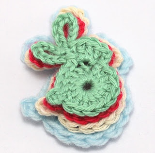 Free Crochet Pattern For Bunny Pin : 17 Best images about Crochet ~ Applique. Free patterns. on ...