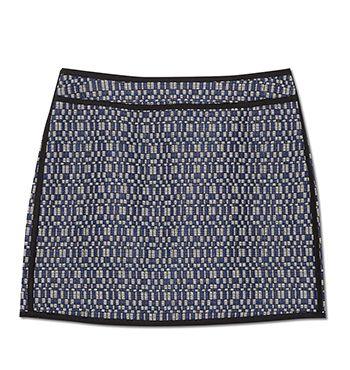 MARCS | New Arrivals - GEO TWEED LUREX ALINE MINI SKIRT