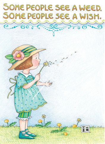 """Weed or Wish"" Greeting Card                              …"