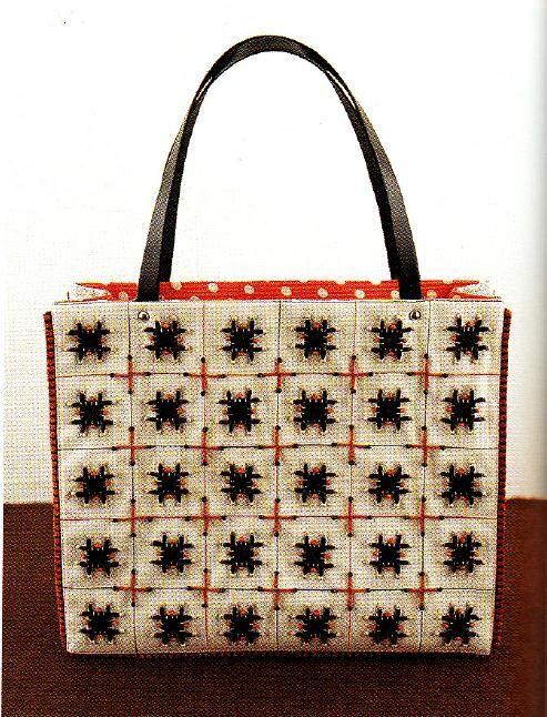 "made  by Naoko Shimoda in ""Charming Bags"""
