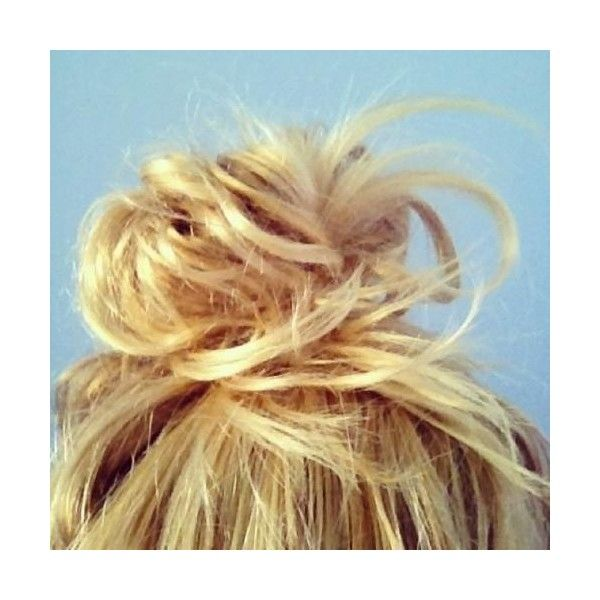 perfect messy bun Hairstyles and Beauty Tips ❤ liked on Polyvore featuring beauty products, haircare, hair styling tools, hair, hairstyles, hair styles and pictures