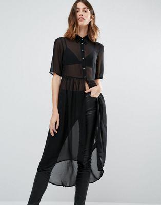 Vestido camisero estilo túnica de Vero Moda