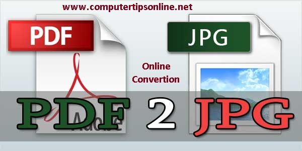 how to convert pdf to jpg offline
