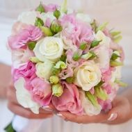 Pink Triumph Bridal Bouquet from Bunches Direct