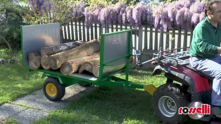 Släpvagnar tipp för fyrhjulingar  ATV - Express 500 Rosselli
