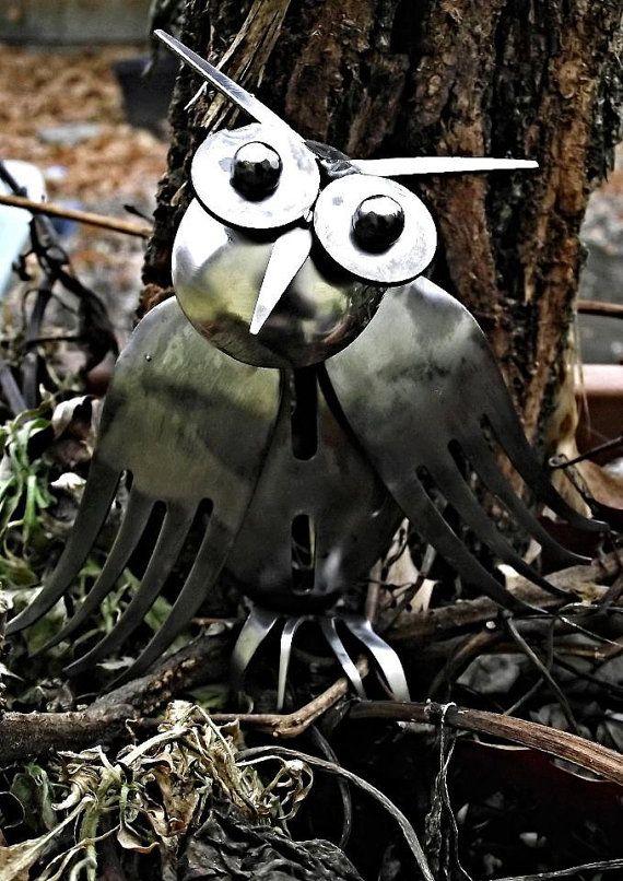 spoon fork owl