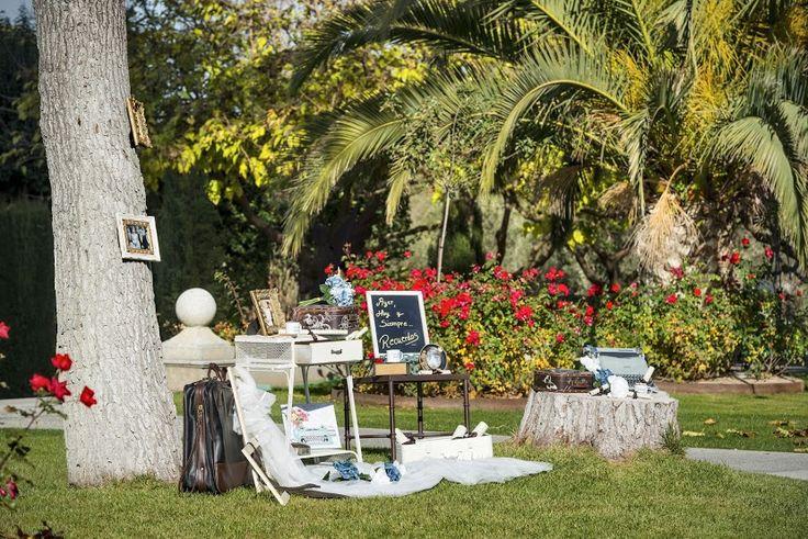 Jardín- Decoración - #Cigarral del Ángel - #BodasToledo
