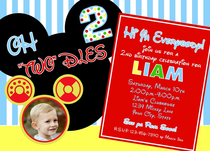 """5 x 7 Photo Card- Oh """"Two""""dles. $0.99, via Etsy."""