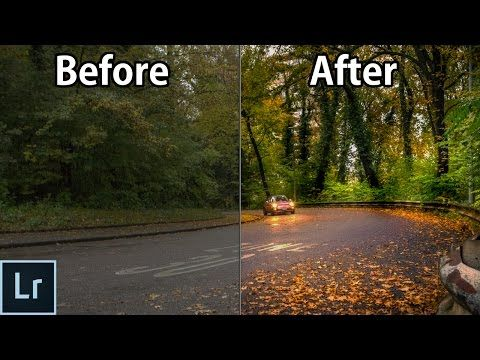 Landscape Photography Editing in Lightroom 5/6 - From The RAW File to the Finished Photo! - WME #004 - YouTube