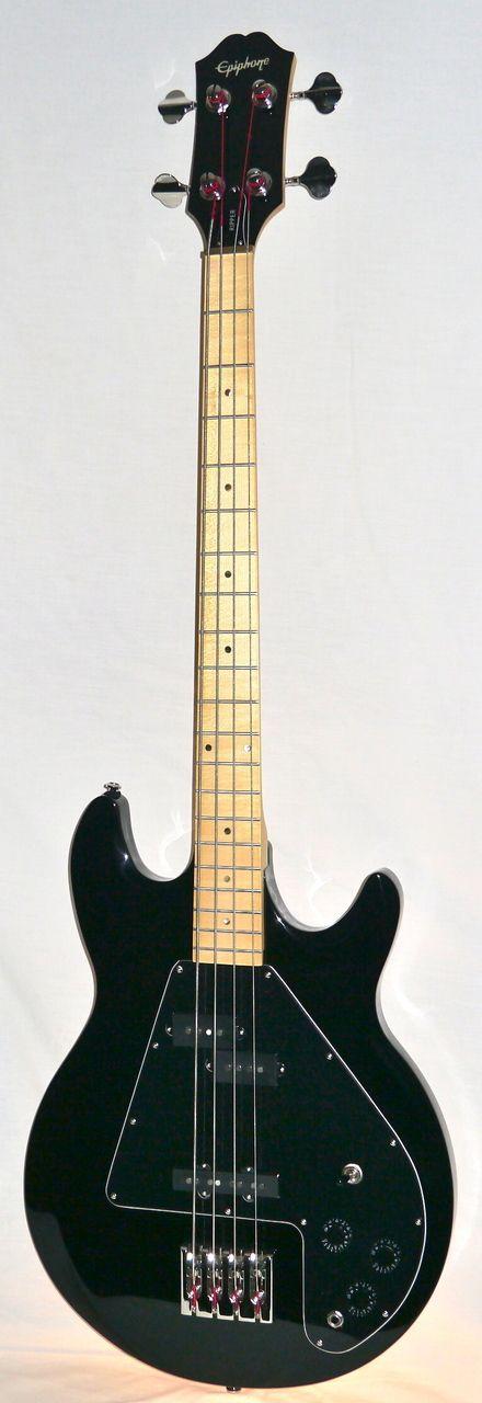 Indian Creek Guitars - Epiphone Limited Edition Ripper Bass - Ebony, $389.00 (http://www.indiancreekguitars.com/epiphone-limited-edition-ripper-bass-ebony/)