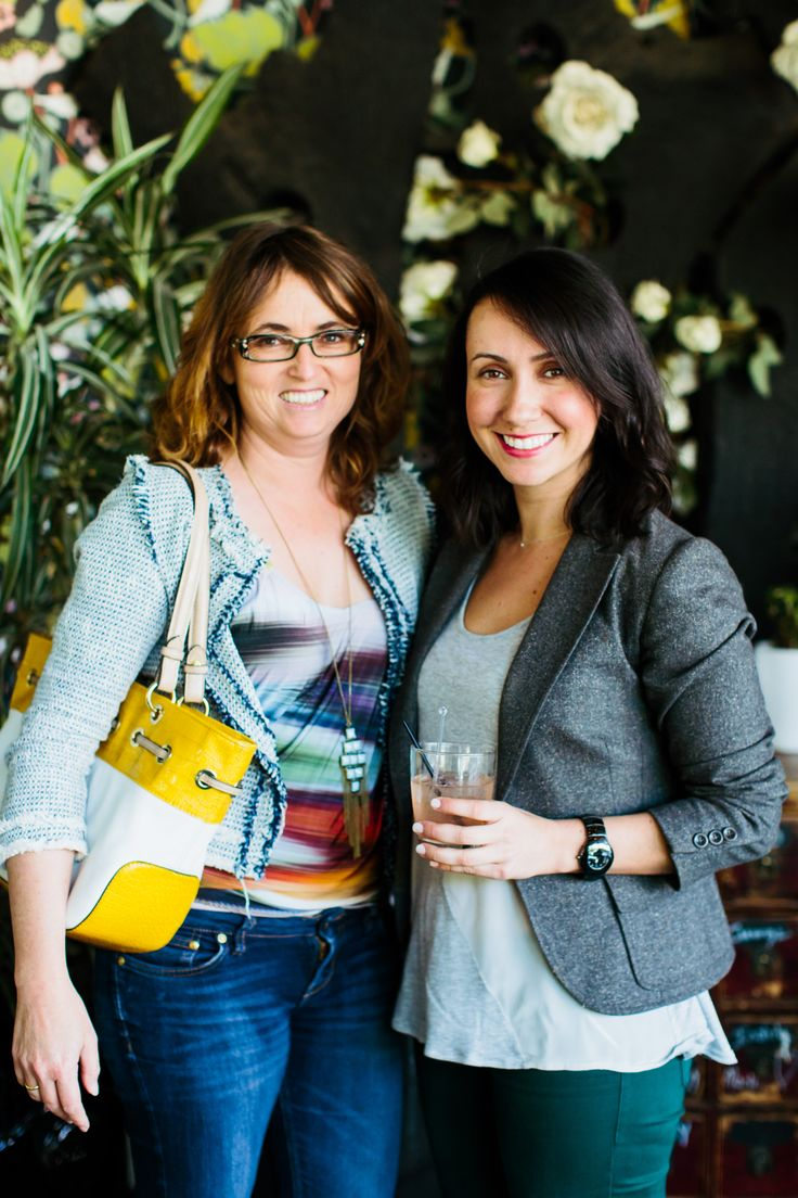Senior stylist of The Home Marjorie Silva and Eva Burgess from Build House Home