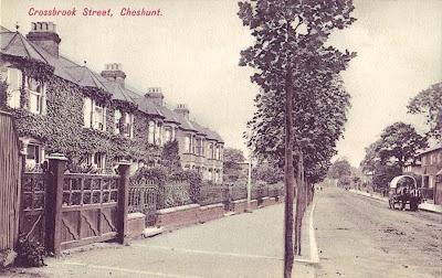 Hertfordshire, Cheshunt, Crossbrook Street