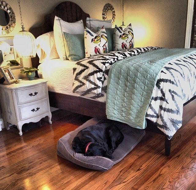 Love this bedroom decor