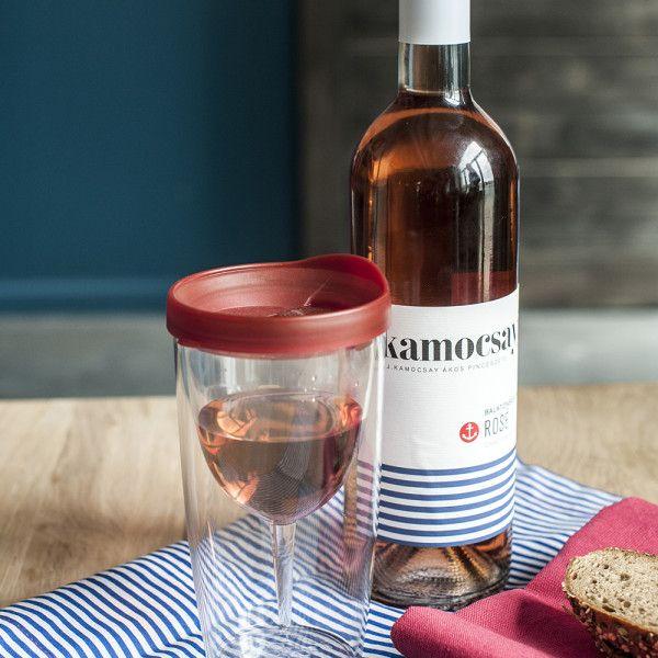Ne csak az élményt vidd magaddal, a poharad is! Fesztiváltúráidra vidd magaddal különbejáratú Kitchy Wino2go poharad, ami könnyű és törhetetlen! #wine #glass #safe #kitchydesign