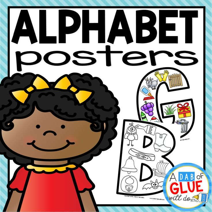 """Your preschoolers are going to LOVE Alphabet Picture Posters! These posters are a great addition to help your students better learn their letters. Use in your Preschool, Kindergarten, and First Grade classrooms. Downloadable 52 Posters {Colored and Black & White} Letter Recognition Alphabet Practice What teachers are saying about this product: """"I wish I could give these an A+! My pre-k kiddos and I used them with our Letter of the Week and loved them!"""" """"I l..."""