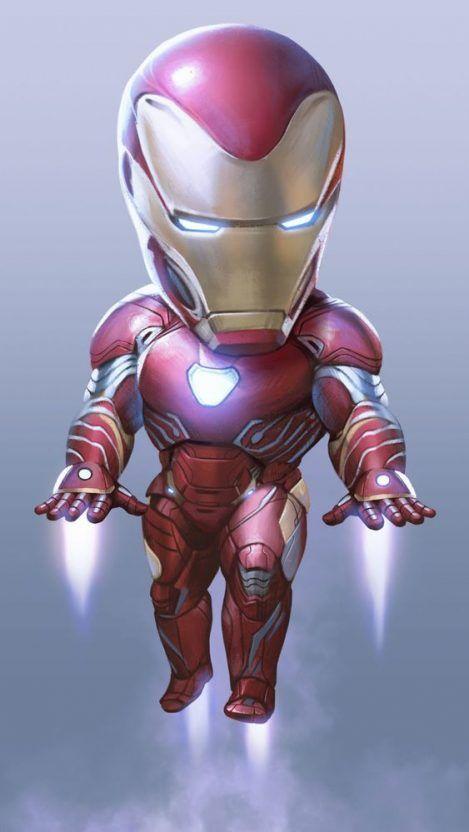 Cute Iron Man Mark 50 Iphone Wallpaper Iphone Wallpapers