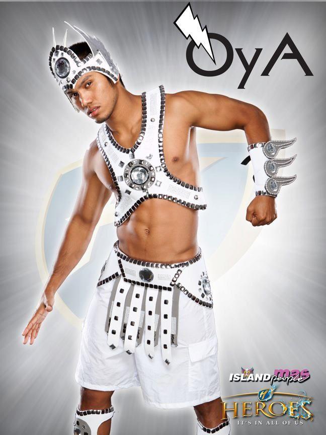 Island People Mas Costume For Trinidad Carnival 2012 Oya