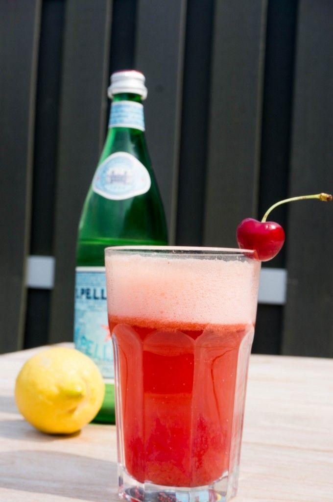 BITK Recept Drinken - Bruizende Kersen Limonade