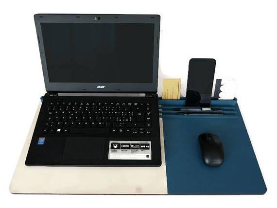 Bed desk organizerbed workstationlaptop standtablet