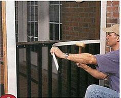 Do-it-Yourself Screened Porch   Today's Homeowner Windows and Doors, Weekend Project: Screen-it-Yourself Porch   In The News   Screen Tight