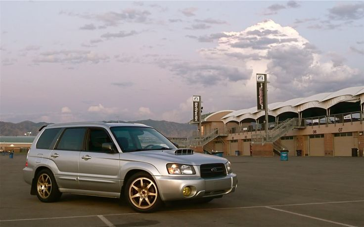 Vehicle: 2004 Forester XT  Tire brand and size: BF Goodrich G-Force Sport 245/45/17  Rim width and height: Rota SDR 17 x 7.5  Rim offset: 48 mm  Any rubbing: None, with room to spare  Suspension: 06 WRX struts / 04 STi Springs   Using any spacers: No